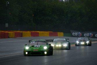 #54 Dinamic Motorsport Porsche 911 GT3 R: Klaus Bachler, Andrea Rizzoli, Zaid Ashkanani