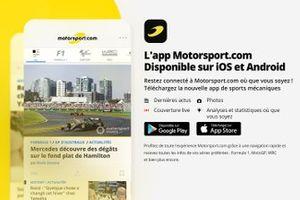 L'app Motorsport.com
