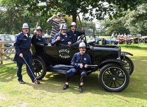 Partido de Cricket Keystone Cops