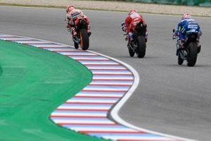 Marc Marquez, Repsol Honda Team, Andrea Dovizioso, Ducati Team, Alex Rins, Team Suzuki MotoGP