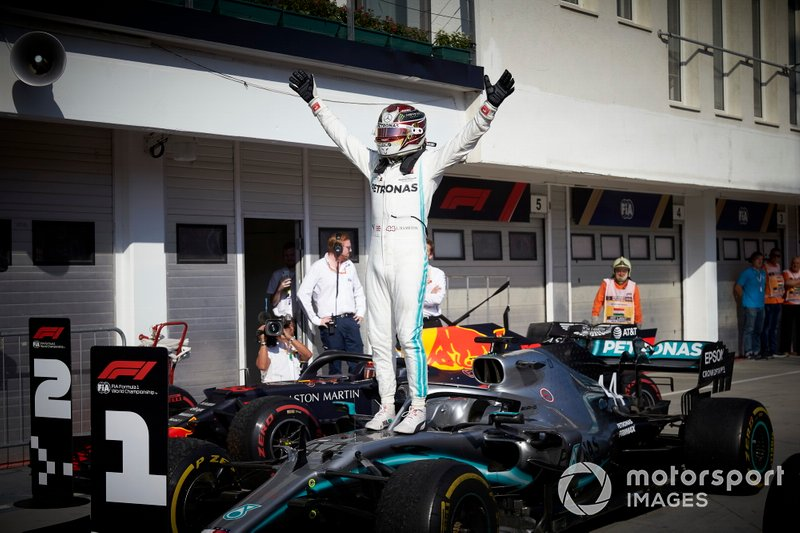 81 GP de Hungría 2019, Mercedes