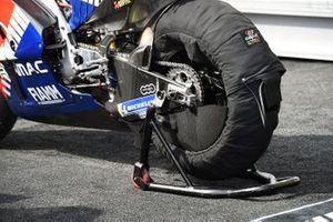 La roue arrière de Jack Miller, Pramac Racing