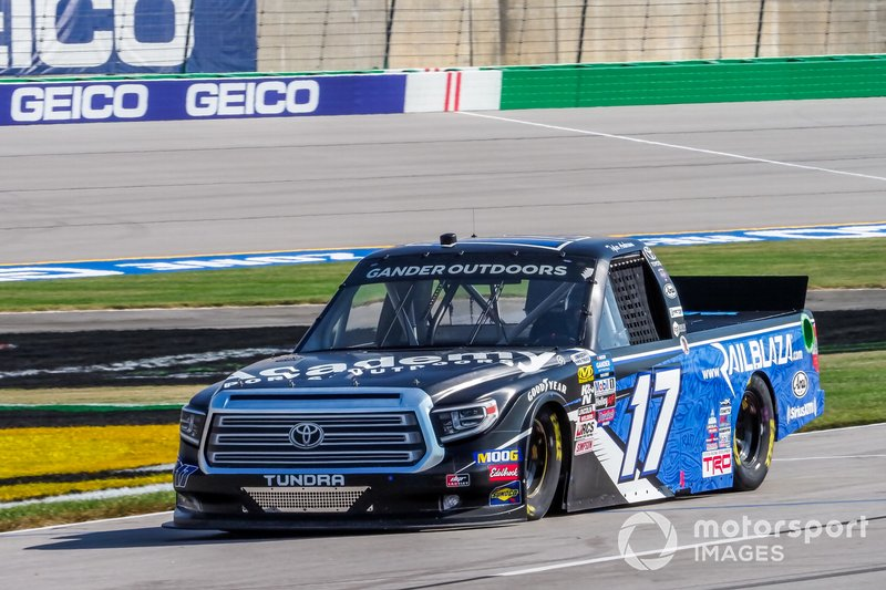 Tyler Ankrum, DGR-Crosley, Toyota Tundra Academy Sports + Outdoors RAILBLAZA