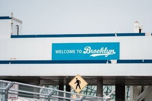 Welcome to Brooklyn signs