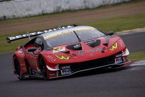 #87 JLOC Lamborghini Huracan GT3: Tsubasa Takahashi, Andre Couto
