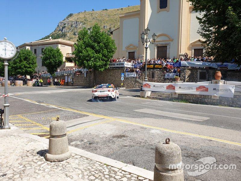 Dariusz Polonski, Rallytechnology, Abarth 124 Rally