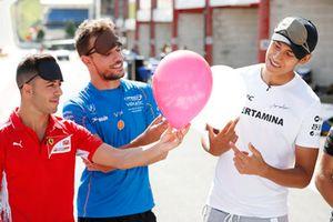 Luca Ghiotto, Campos Racing Antonio Fuoco, Charouz Racing System e Sean Gelael, PREMA Racing