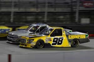 Justin Fontaine, Niece Motorsports, Chevrolet Silverado ProMATIC Automation/Superior Essex, Grant Enfinger, ThorSport Racing, Ford F-150 Champion Power Equipment