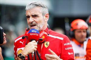 Maurizio Arrivabene, jefe de equipo, Ferrari
