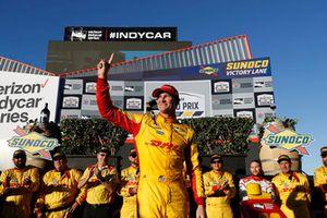 Ryan Hunter-Reay, Andretti Autosport Honda, podio