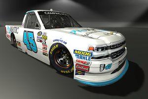 Justin Fontaine, Niece Motorsports, Chevrolet Silverado