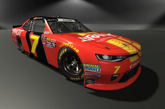 Justin Allgaier, JR Motorsports, Chevrolet Camaro
