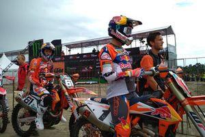 MX2: Jorge Prado en Pauls Jonass, KTM Factory Racing