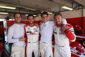 Gianluca Carboni, Best Lap, Andrea Gagliardini, Best Lap, Lorenzo Pegoraro, Best Lap, Dario Capitanio, Best Lap