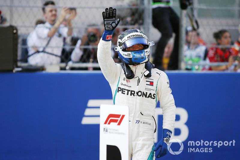 Pole: Valtteri Bottas, Mercedes AMG F1 W09