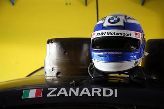 Helmet of Alex Zanardi, BMW M4 DTM
