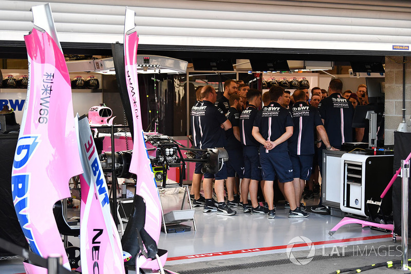 Reunión de Force India F1