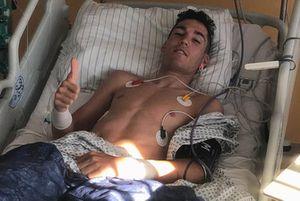 Aleix Espargaró in ospedale