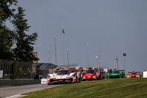 #6 Acura Team Penske Acura DPi, P - Dane Cameron, Juan Pablo Montoya, #99 JDC/Miller Motorsports ORECA 07, P - Stephen Simpson, Mikhail Goikhberg