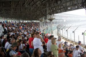 Fans am Indianapolis Motor Speedway