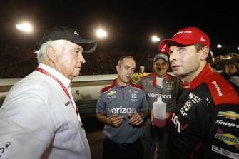 Will Power, Team Penske Chevrolet, mit Roger Penske