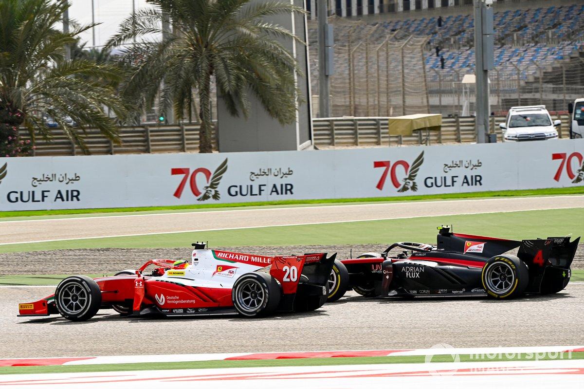 Mick Schumacher, Prema Racing y Callum Ilott, UNI-Virtuosi