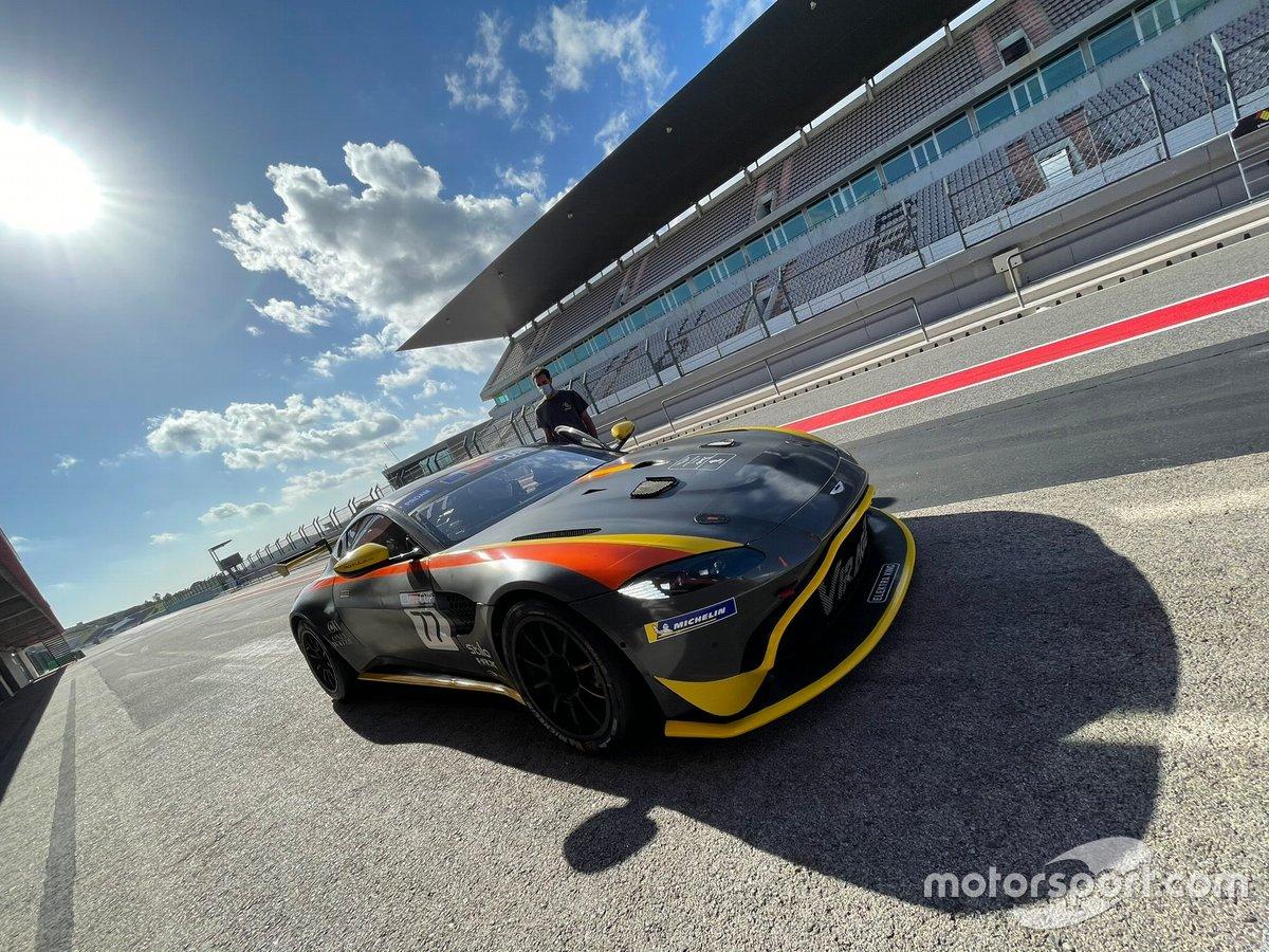 Test de Jos Verstappen con el Ligier LMP3 de Team Virage