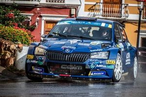 Nil Solans, Marc Marti, Skoda Fabia Rally2 evo