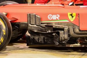 Ferrari SF1000 bodywork detail