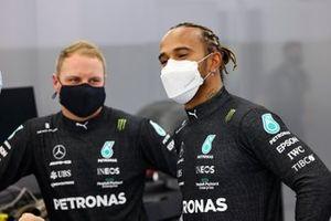 Lewis Hamilton, Mercedes, and Valtteri Bottas, Mercedes