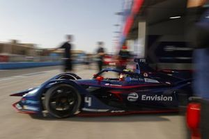 Robin Frijns, Envision Virgin Racing, Audi e-tron FE07, sort de son garage