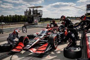 Will Power, Team Penske Chevrolet, pit stop