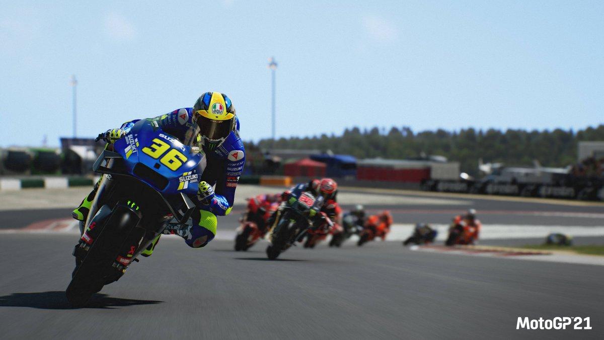 Imagen de MotoGP 21 en Portimao