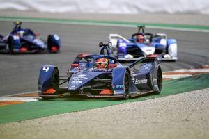 Robin Frijns, Envision Virgin Racing, Audi e-tron FE07, Maximilian Gunther, BMW i Andretti Motorsport, BMW iFE.21