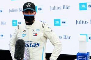 Pole sitter Stoffel Vandoorne, Mercedes Benz EQ