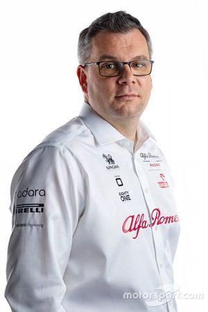 Jan Monchaux, director técnico de Alfa Romeo Racing