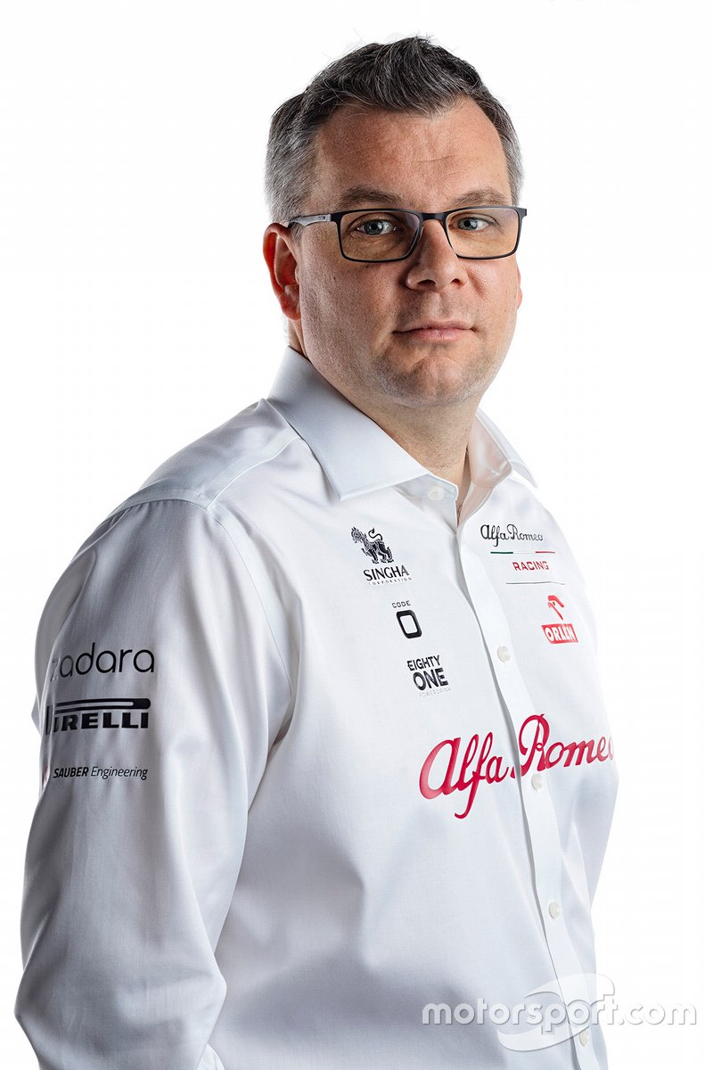 Jan Monchaux, director técnico de Alfa Romeo Racing
