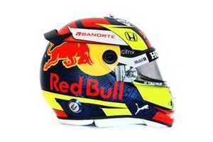 Helmet of Sergio Perez, Red Bull Racing