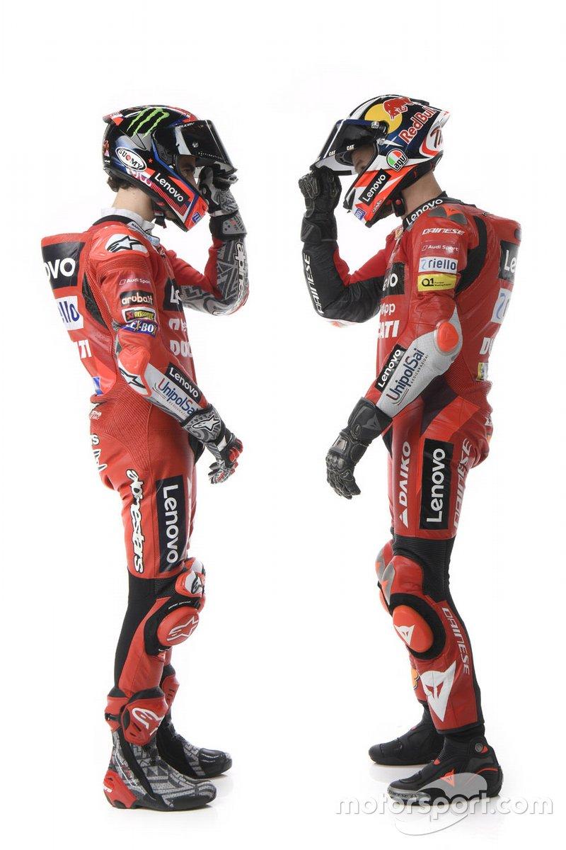 Jack Miller, Francesco Bagnaia, Ducati Team
