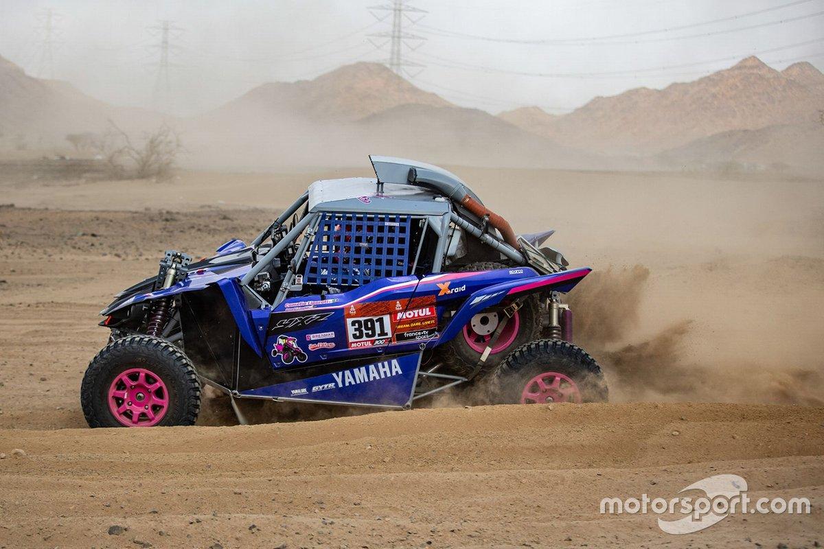 #391 X-Raid Yamaha Racing Rally Supported Team: Camelia Liparoti, Annett Fischer