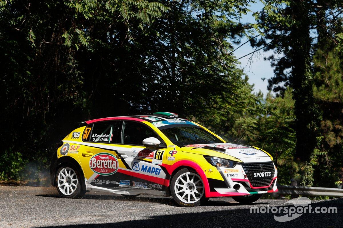 Rachele Somaschini, Giulia Zanchetta, RS Team Italia, Peugeot 208 Rally4