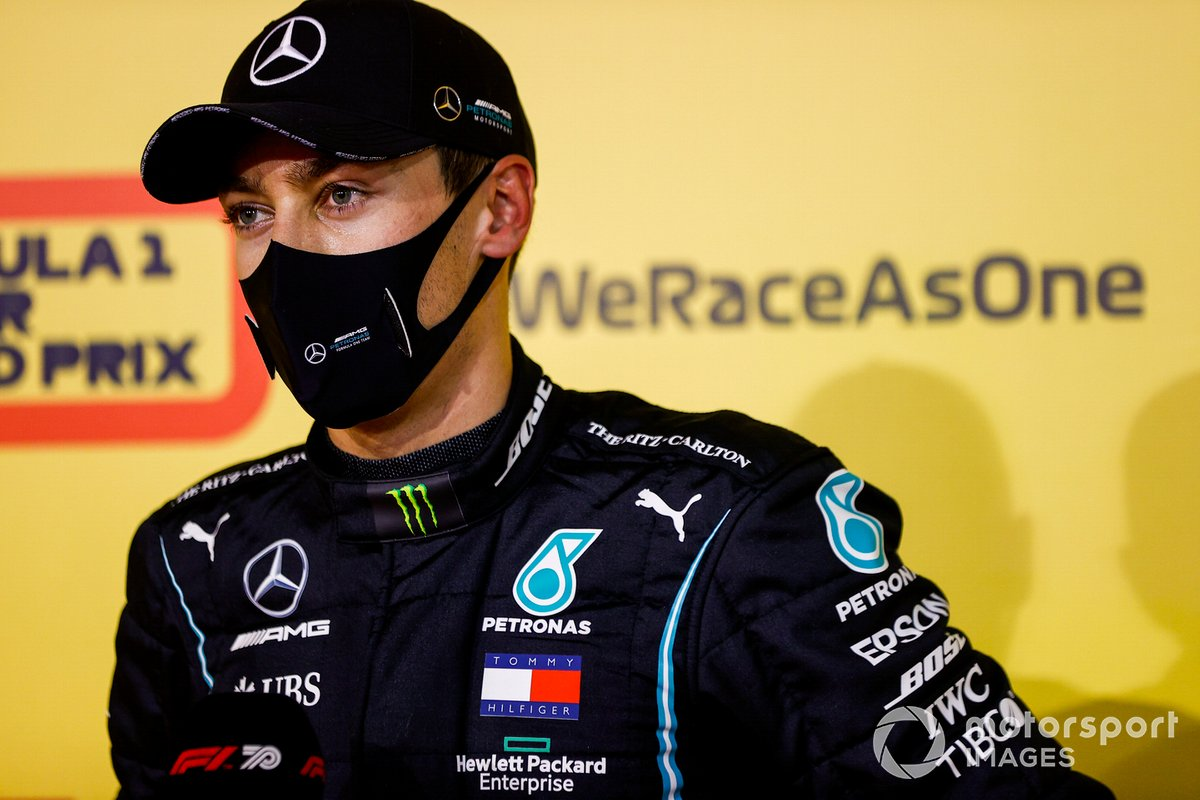 George Russell, Mercedes-AMG F1, dopo le qualifiche