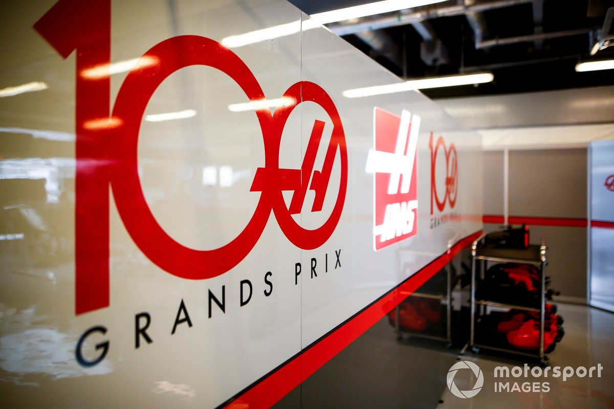 100th GP of Haas F1 Team