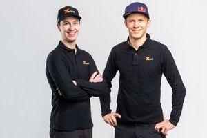Mattias Ekstrom, Emil Bergkvist X-Raid