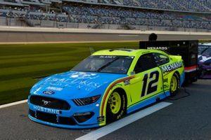 Ryan Blaney, Team Penske, Ford Mustang Menards/Great Lakes Flooring