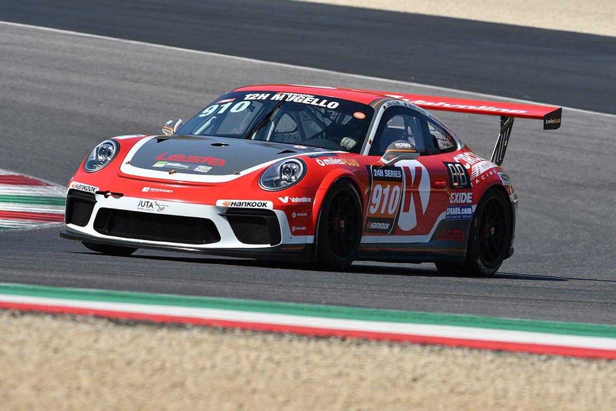#910 JUTA Racing: Julius Adomavicius, Andrius Gelžinis, Jonas Gelžinis, Porsche 991-II Cup