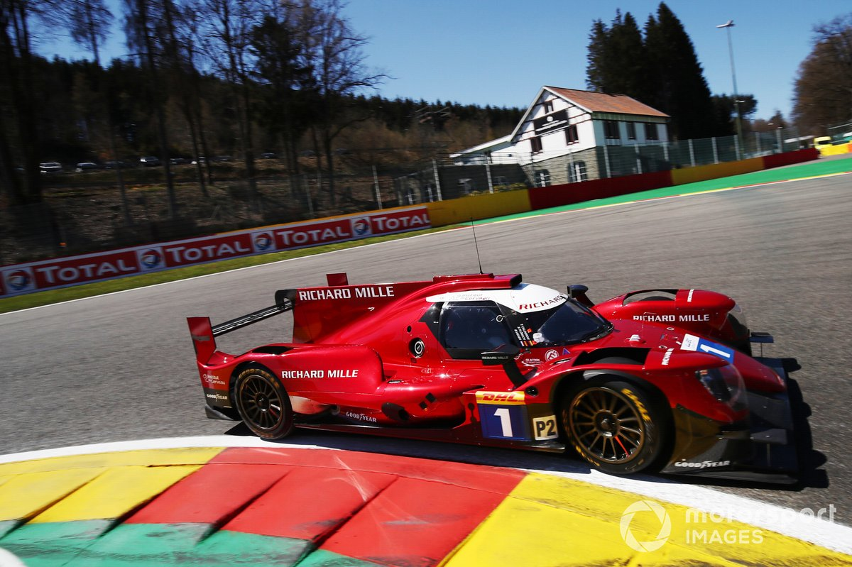 #1 Richard Mille Racing Team Oreca 07 - Gibson: Tatiana Calderon, Sophia Flörsch, Beitske Visser