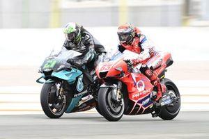 Franco Morbidelli, Petronas Yamaha SRT, Francesco Bagnaia, Pramac Racing