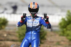 Second place Alex Rins, Team Suzuki MotoGP