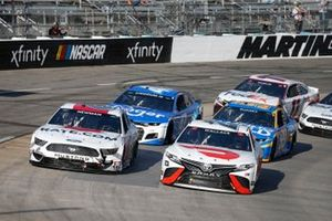 Bubba Wallace, 23XI Racing, Toyota Camry DoorDash, Ryan Newman, Roush Fenway Racing, Ford Mustang Guaranteed Rate
